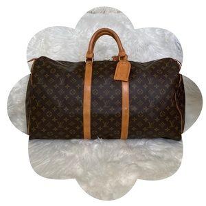 ✨💗 Louis Vuitton 💗✨          Keepall 55 Monogram